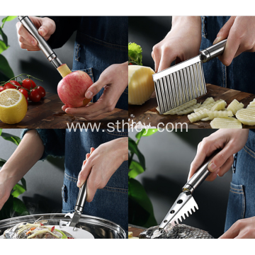 304 Stainless Steel Kitchen Artifact Set